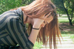 angoisse anxiété femme